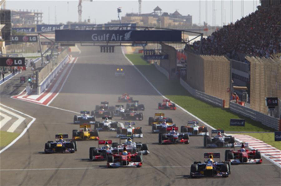 UK tyre supplier in F1 talks