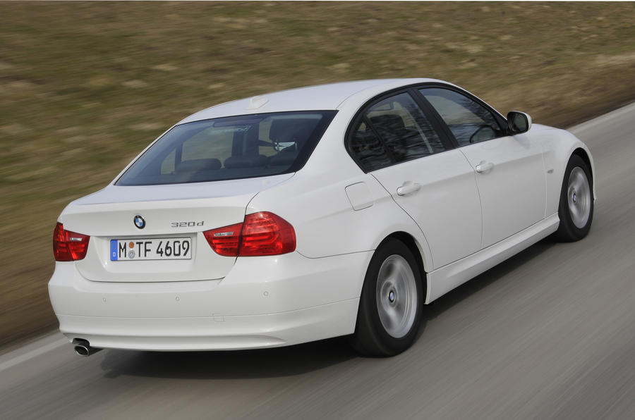 BMW 320d Efficient Dynamics rear