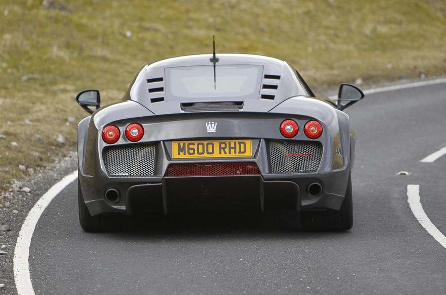 Noble M600 4.4 V8 rear