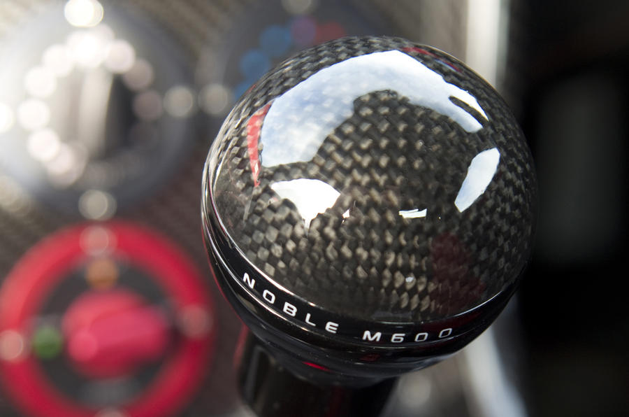 Noble M600 manual gearbox