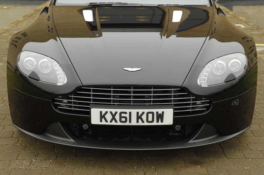 Aston Martin Vantage V8 front end