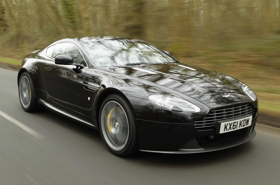420bhp Aston Martin Vantage V8