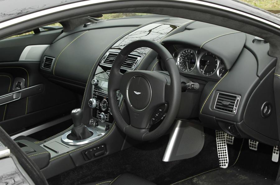 Aston Martin Vantage V8 interior