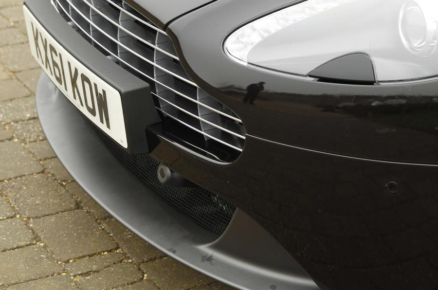 Aston Martin Vantage front grille
