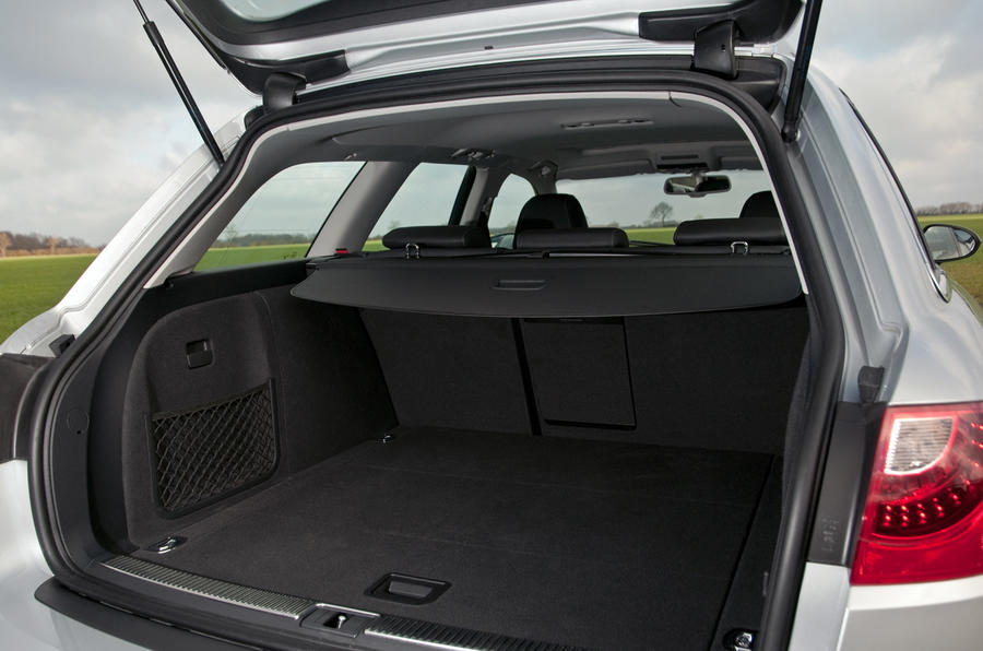 Seat Exeo Sport boot space
