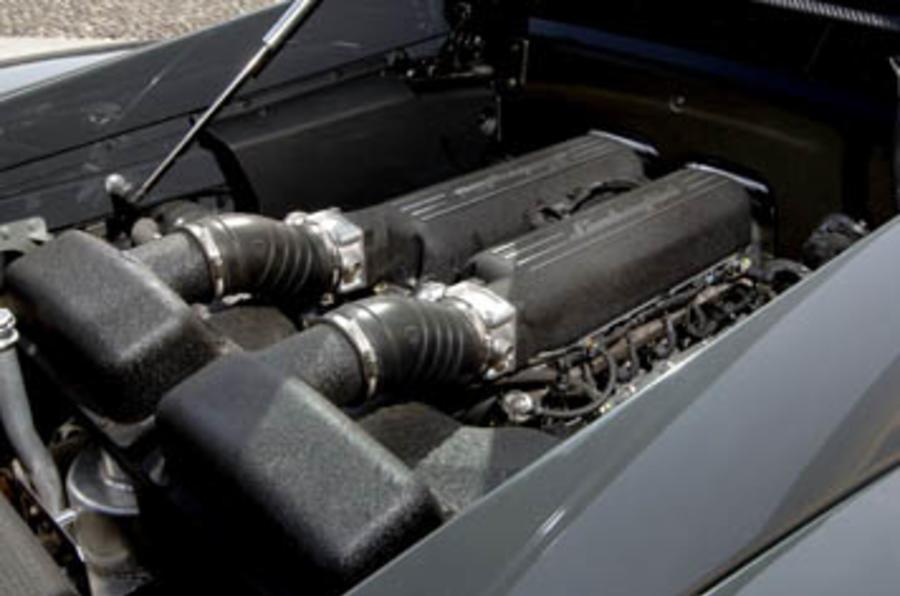 5.2-litre V10 Lamborghini Gallardo engine