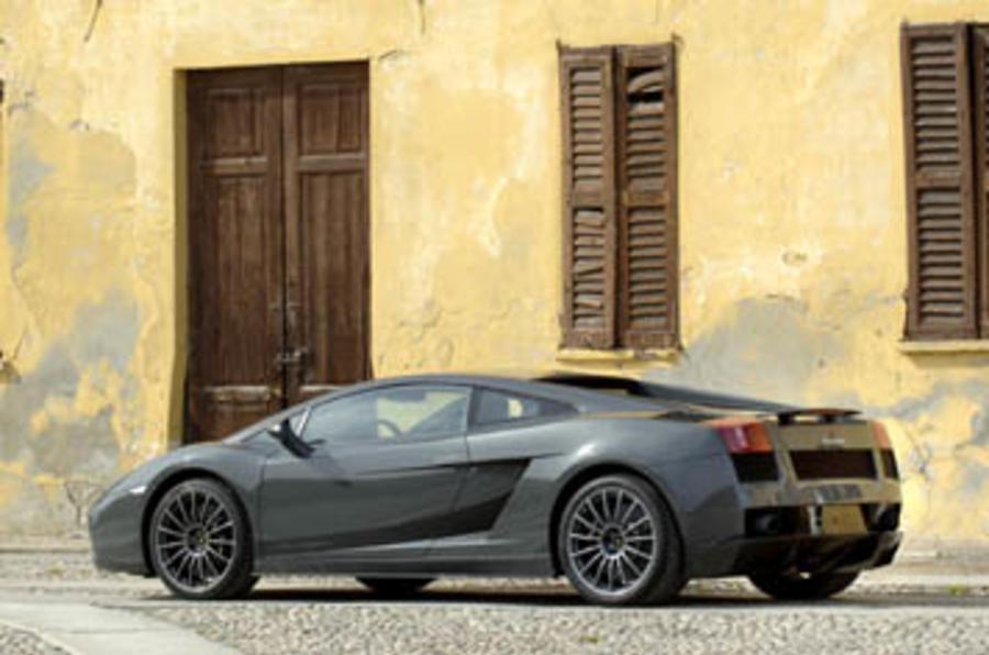Lamborghini Gallardo Superleggera rear quarter