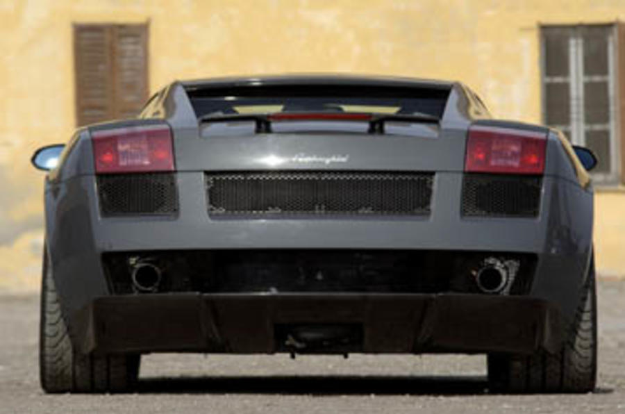 Lamborghini Gallardo Superleggera rear end