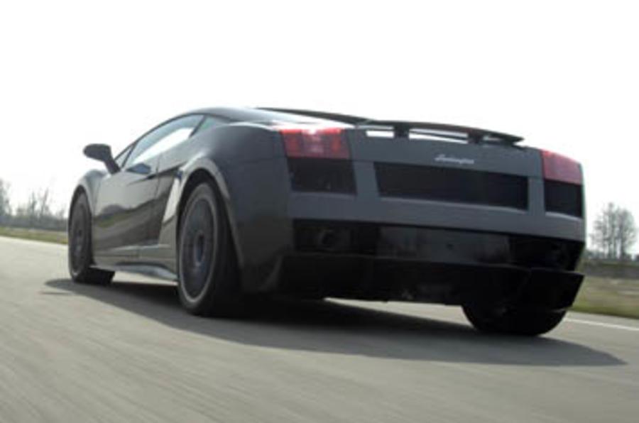 Lamborghini Gallardo Superleggera rear