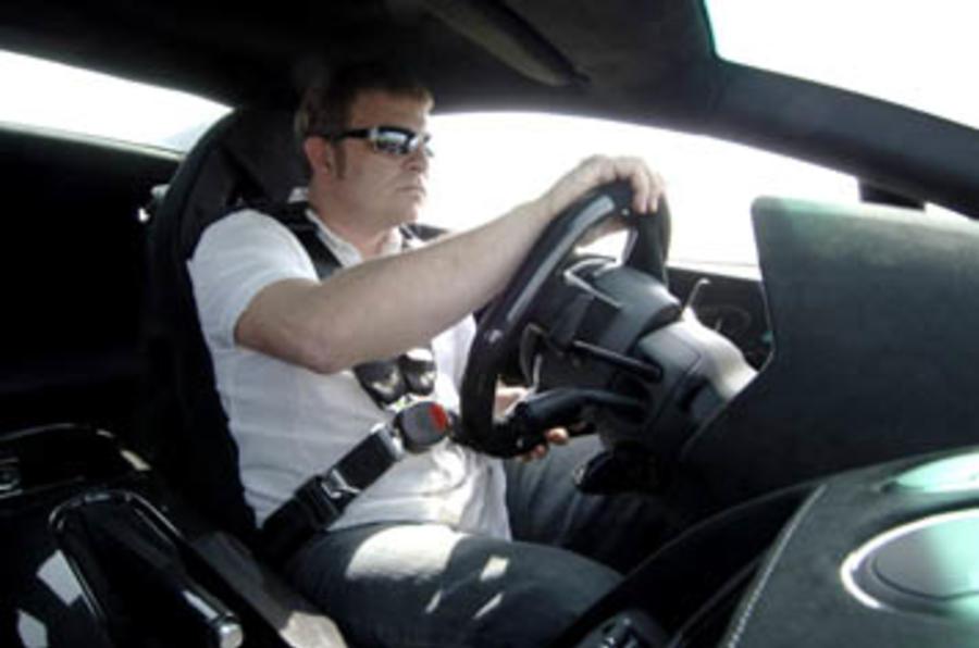 Driving the Lamborghini Gallardo Superleggera