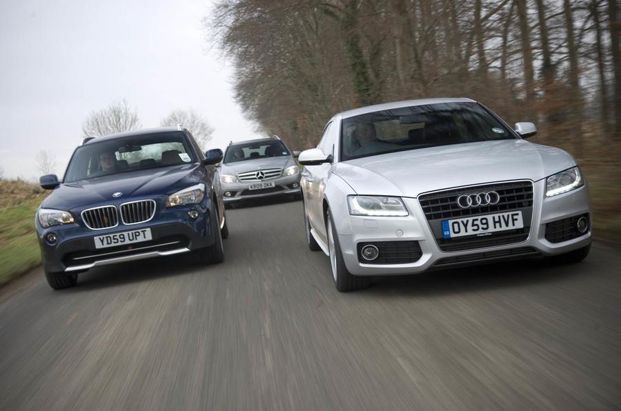 Audi v BMW v Mercedes