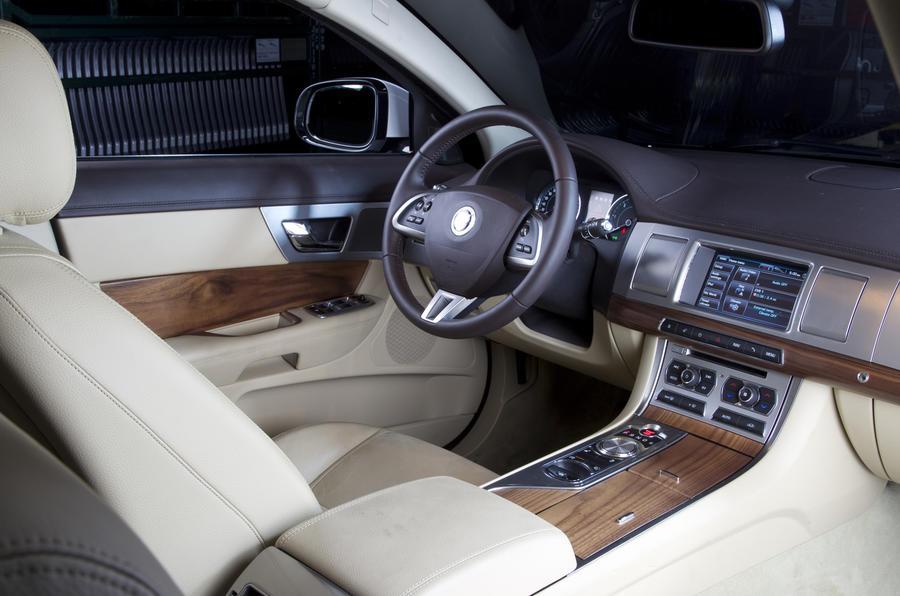 Jaguar XFR interior