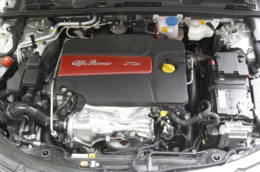 Alfa Romeo 159's 2.4-litre diesel