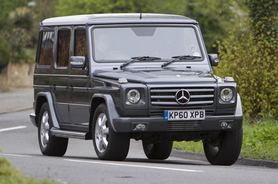Mercedes benz g 350 cdi review autocar for Mercedes benz g 350