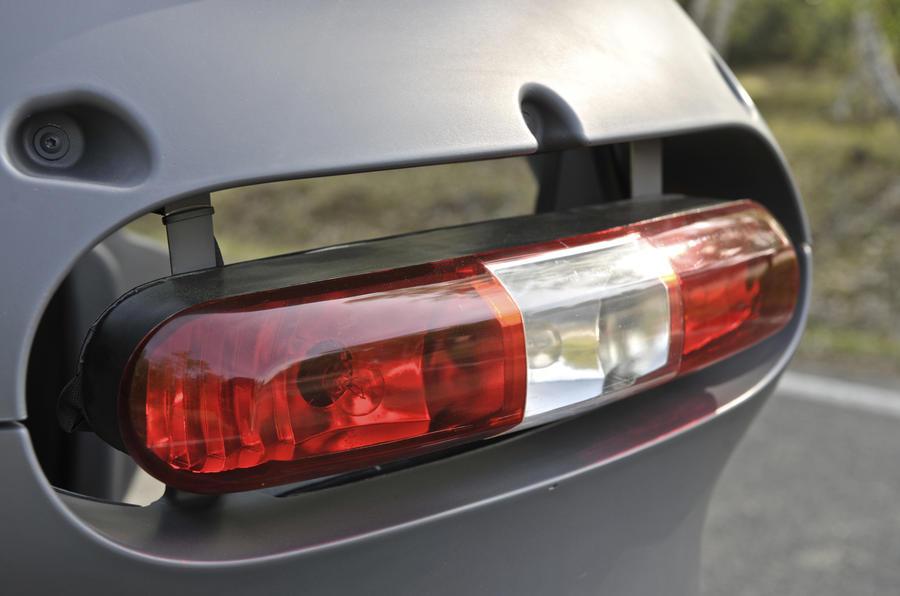 Renault Twizy EV rear light
