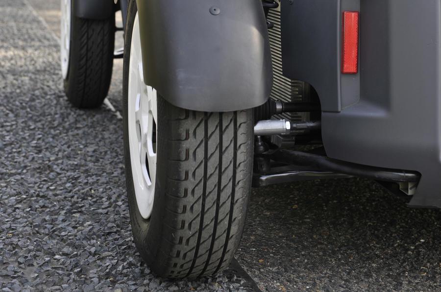 Renault Twizy EV wheels
