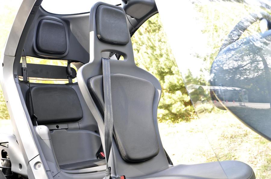 Renault Twizy EV interior