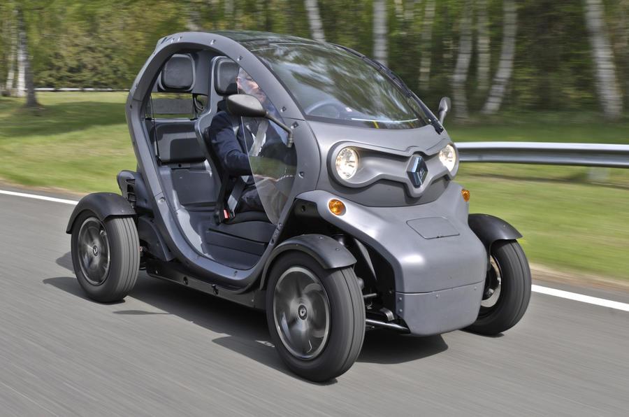 Renault Twizy EV front
