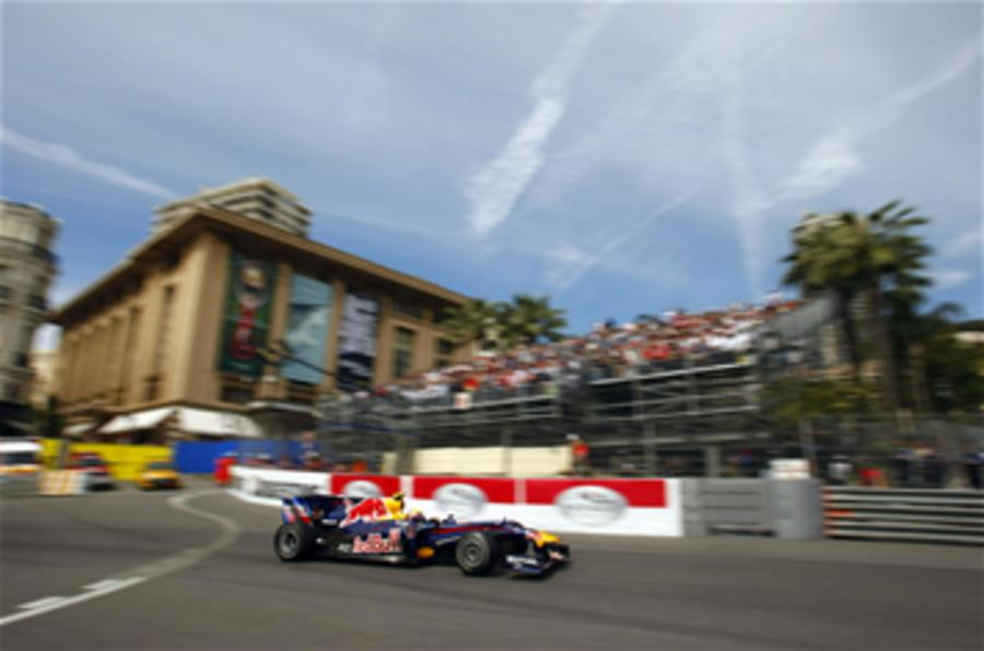 Webber takes Monaco pole