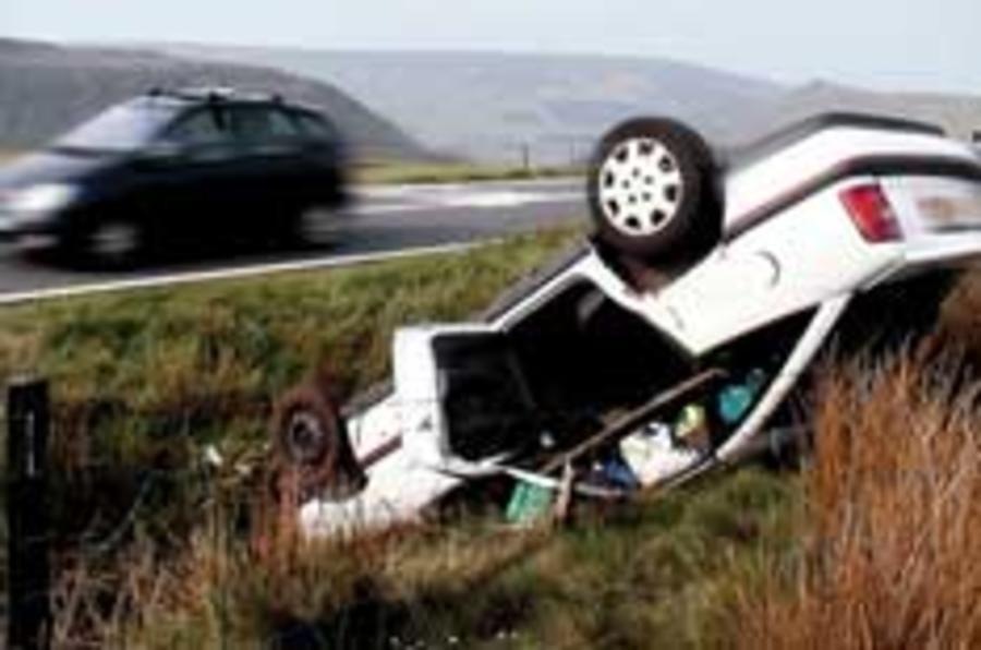 Half UK A-roads 'unsafe'