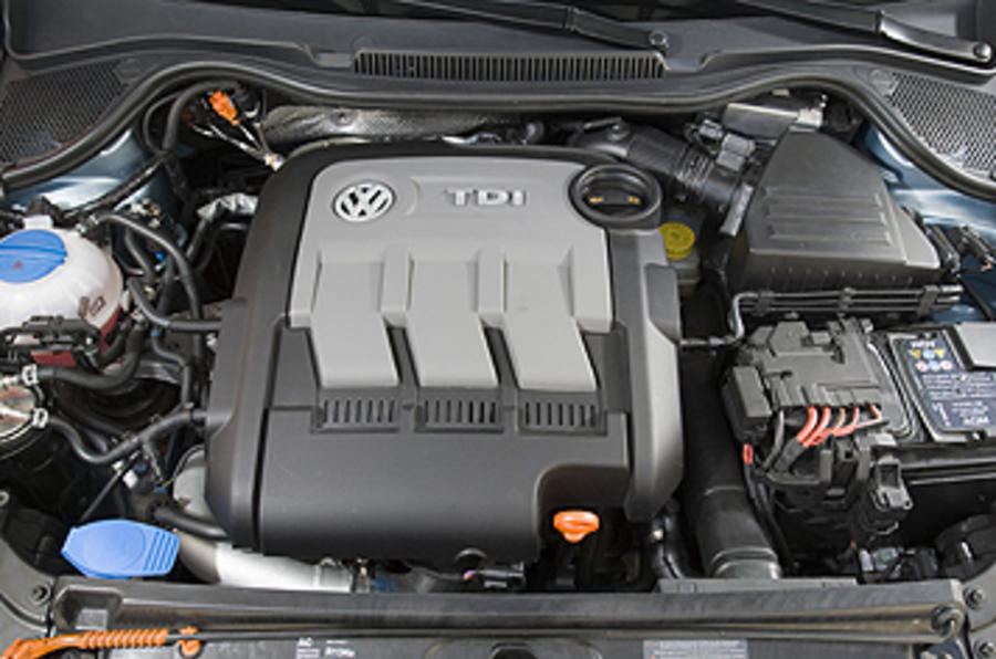 1.2-litre VW Polo diesel engine