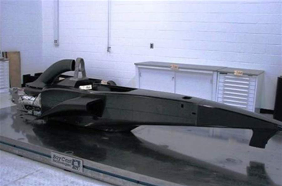 US F1's tub sells for just £5k