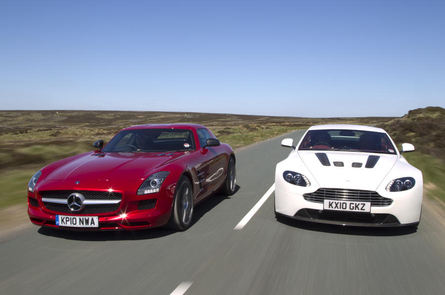 Merc SLS vs its supercar rivals