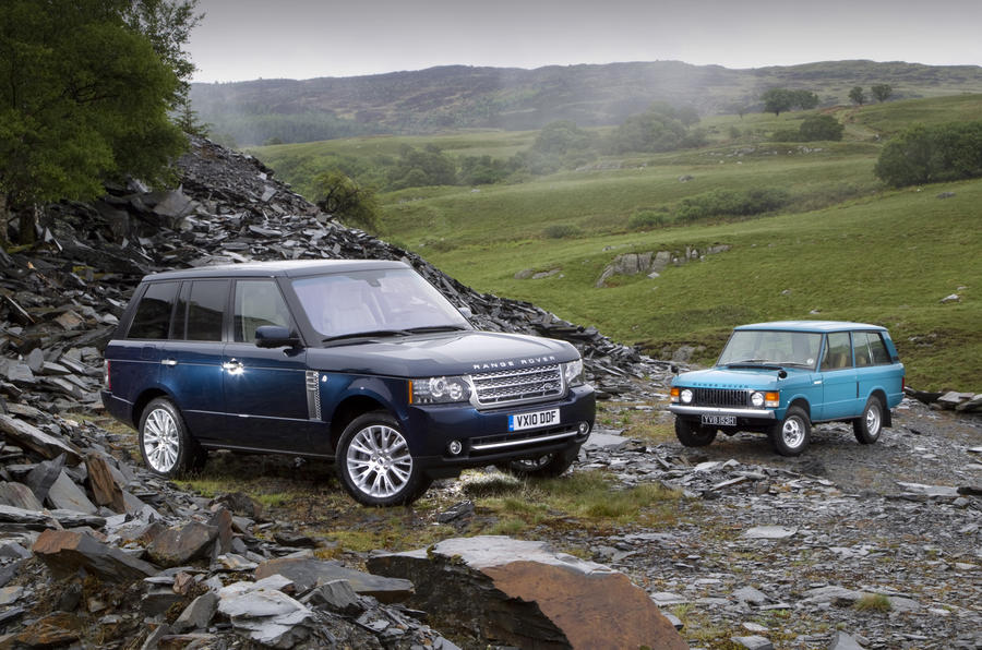 Old Range Rover >> Range Rover: old vs new video | Autocar