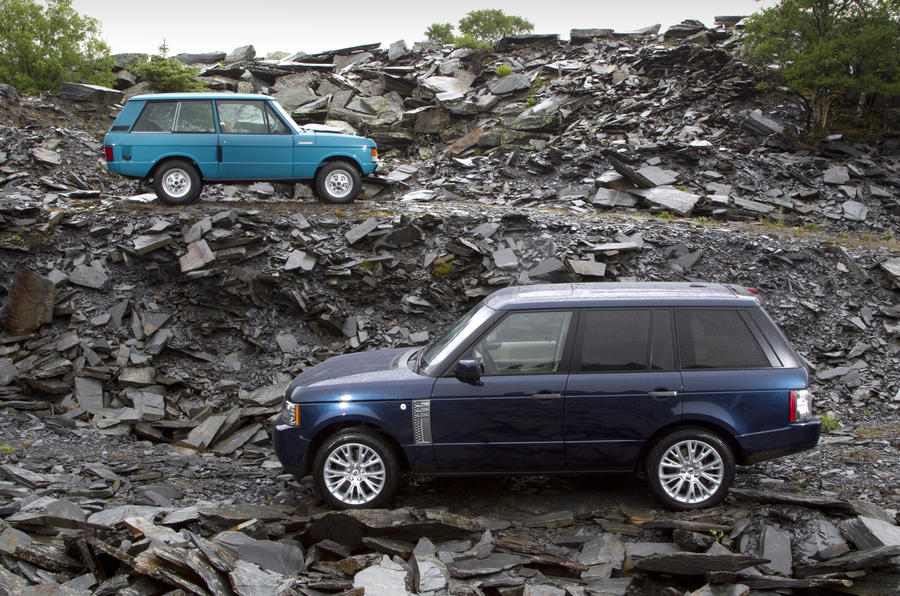 Range Rover: old vs new video