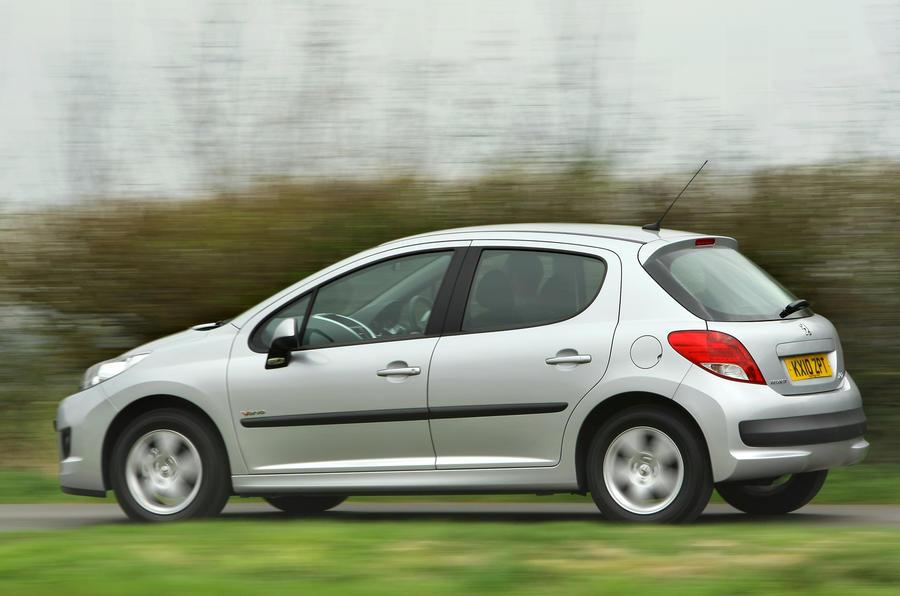 Peugeot 207 rear