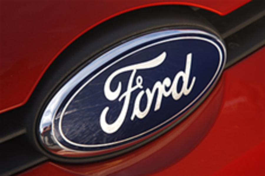 Ford's sales on the up