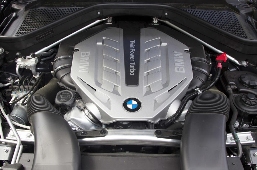 4.4-litre V8 BMW X5 xDrive50i engine