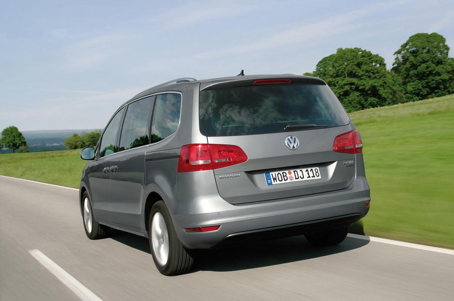 Volkswagen Sharan rear