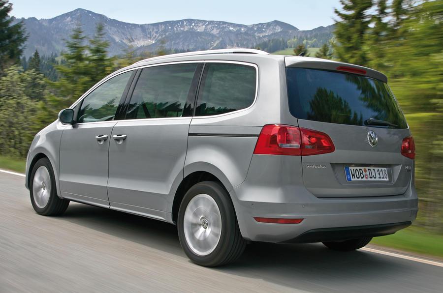 Volkswagen Sharan rear quarter