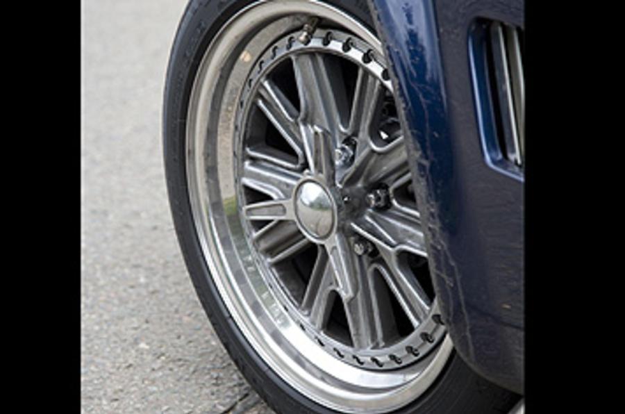 AC MkVI alloy wheels