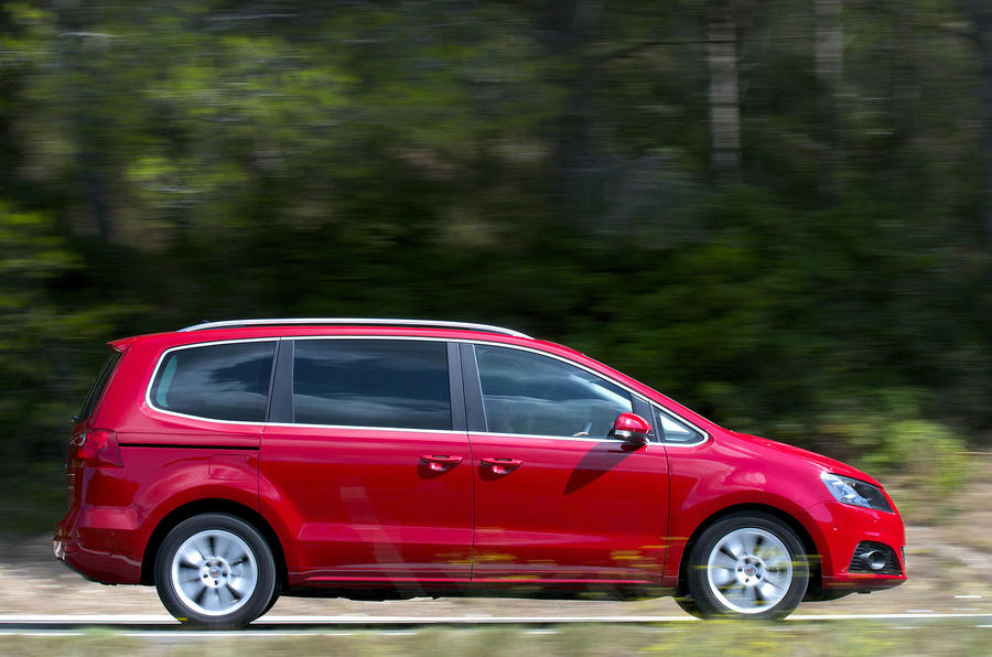 seat alhambra se 1 4 tsi review autocar. Black Bedroom Furniture Sets. Home Design Ideas