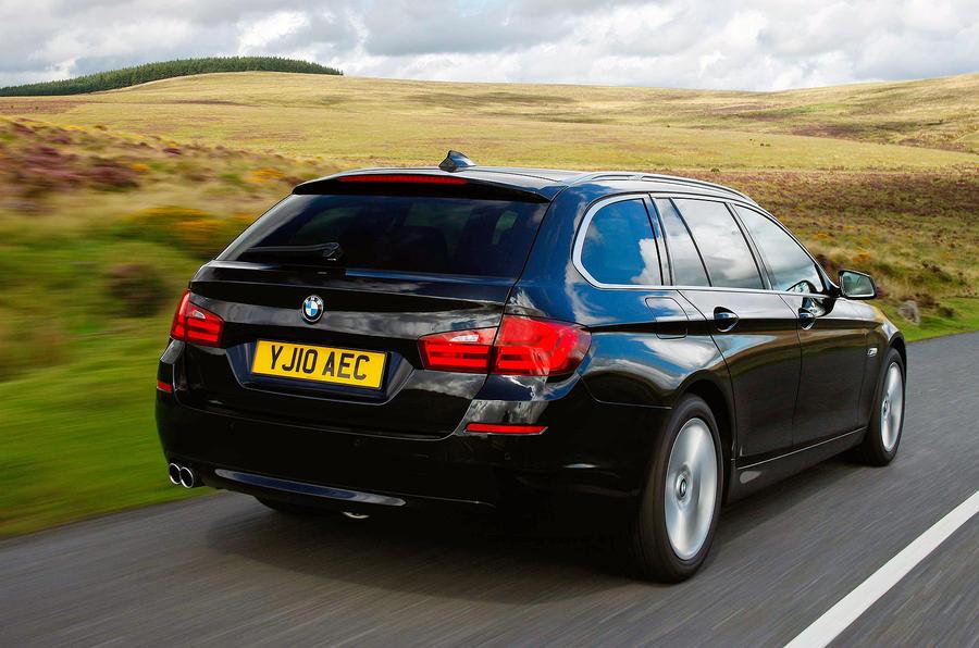 BMW 520d Touring rear