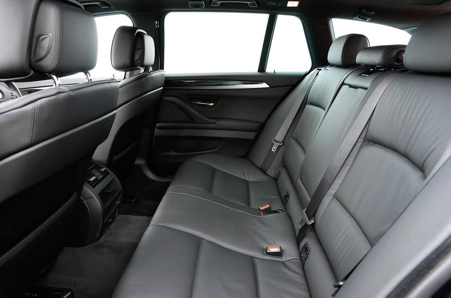 BMW 520d Touring rear seats