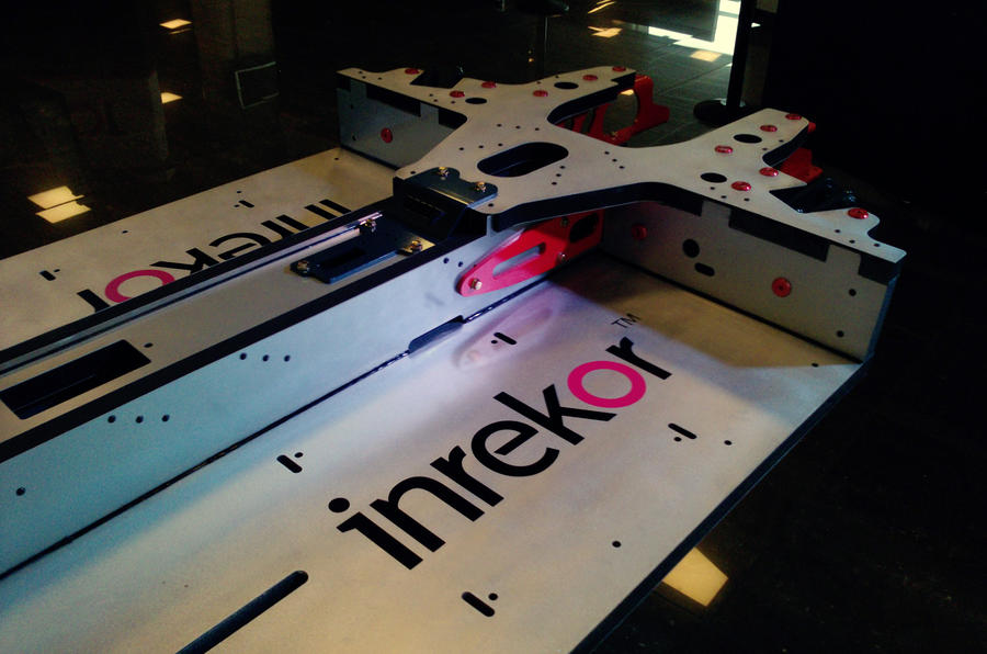 Lighter car-building tech unveiled