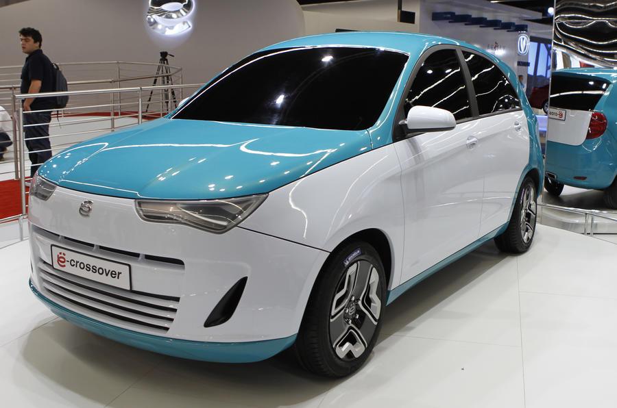 Frankfurt: Yo-Auto hybrid for 2013