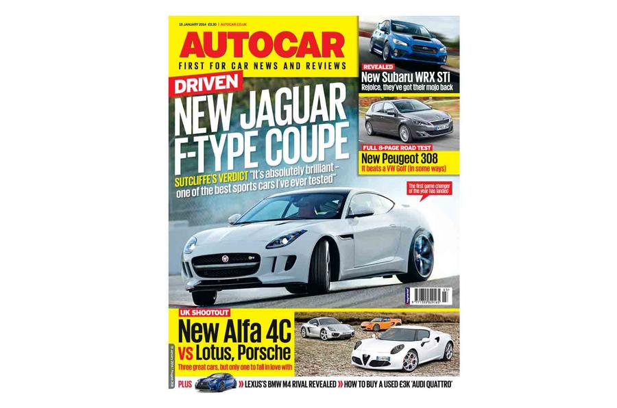 Autocar magazine 15 January preview
