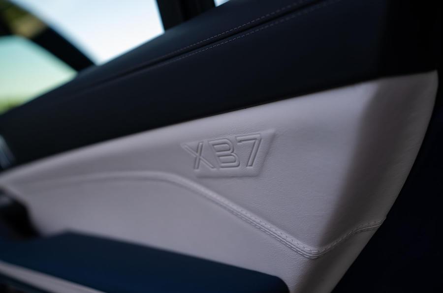 Alpina XB7 2020 road test review - interior trim