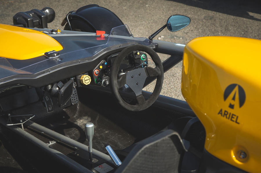 Ariel Atom 4 2019 road test review - dashboard