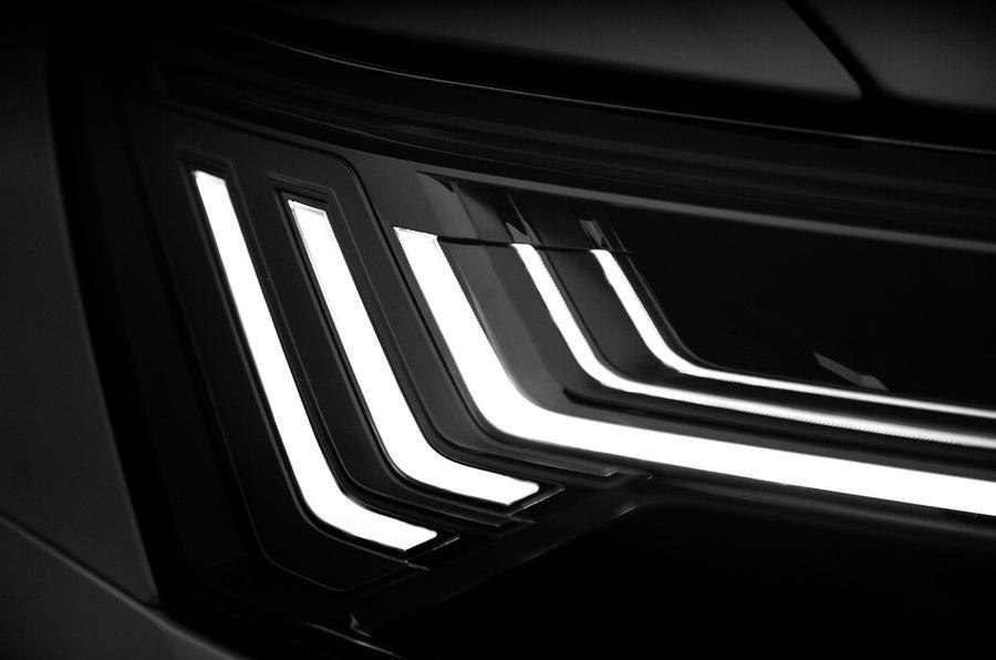 Audi A6 2019 road test review - interior lights