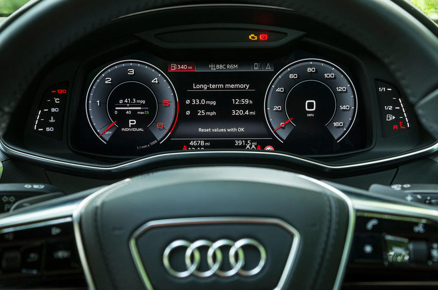 Audi A7 Sportback 2018 road test review virtual cockpit