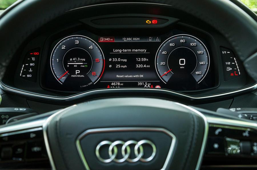 Audi A7 Sportback 2018 road test review virtual cockpit