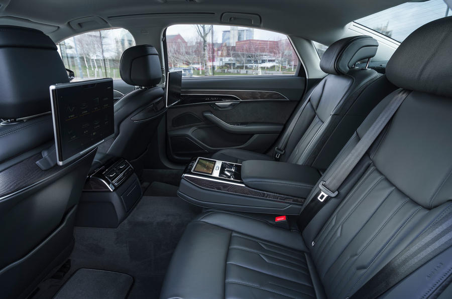 Audi A8 60 TFSIe 2020 road test review - legroom