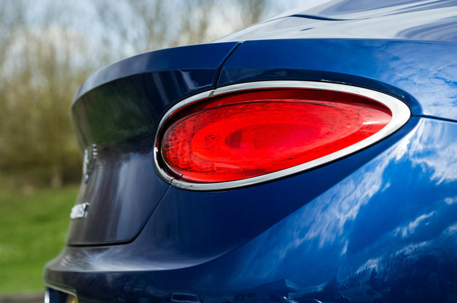 Bentley Continental GT 2018 Autocar road test review rear lights