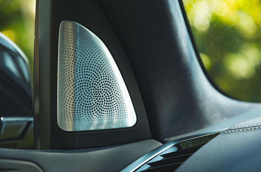 BMW X7 2020 road test review - speakers