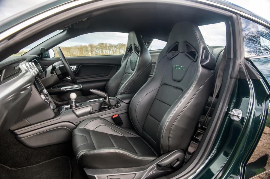 Ford Mustang Bullitt 2018 road test review - cabin